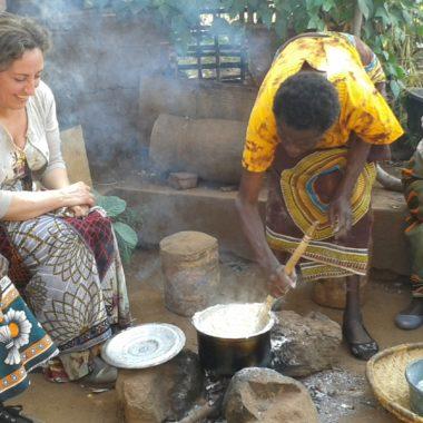 Door de sloppen van Ndirande, Malawi